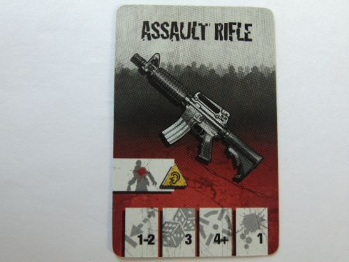 survivor equipment card (assault rifle)